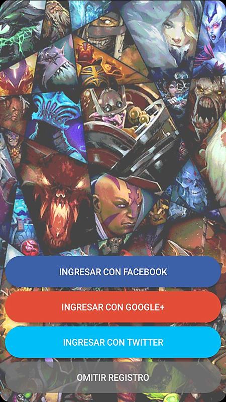 Login | Hero Voice - Dota 2