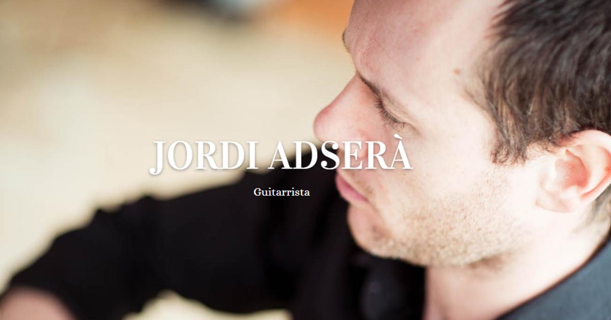 Jordi Adsera | Programación y más